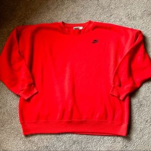 VTG 80's Nike Crew Neck Grey Label